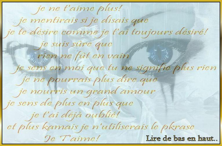 Poême Damour